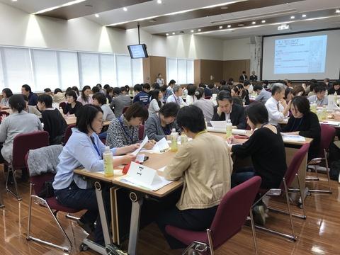 第6回岡山市北部地域病診医介連携ネットワーク研修会の様子