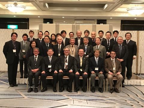 岡山市内医師会連合会と岡山市医師会との連帯感を深める会の様子