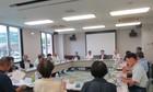 岡山県医師会主催・県民との座談会「会長がゆく!虹色サロン」の様子
